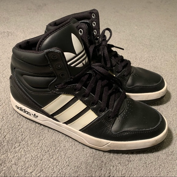 quality design 23d0a 61a52 adidas Shoes - Adidas Court Attitude High Top Sneakers